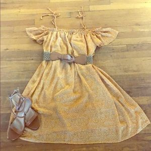 Mustard yellow Xilaration dress